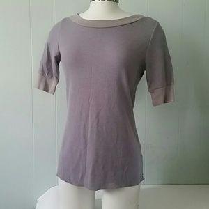 Half sleeve Soft Thermal Tshirt Tee Gray comfy